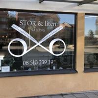 Salong Stor & Liten